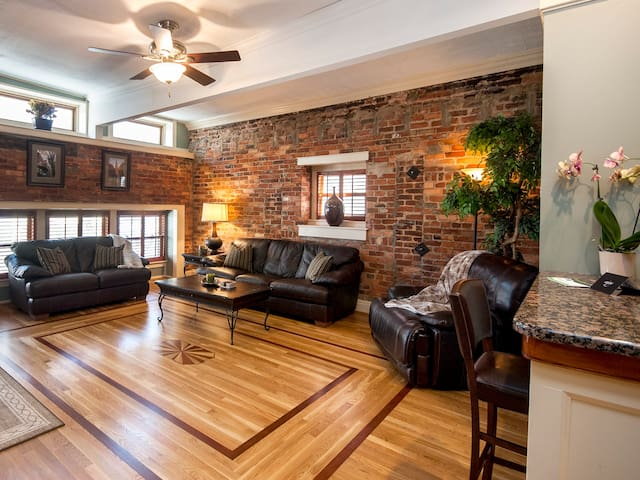 Large Very bright and open Living Room.