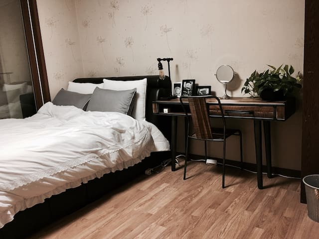 Nice and Cozy bedroom near MBC Sangam - 마포구