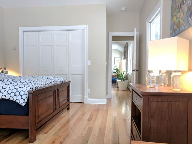 Master Suite with a Private Entrance