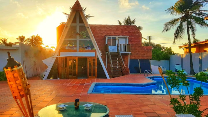 The Roof Villa 💫 Private Pool 💫 BBQ Grill 💫 3BR