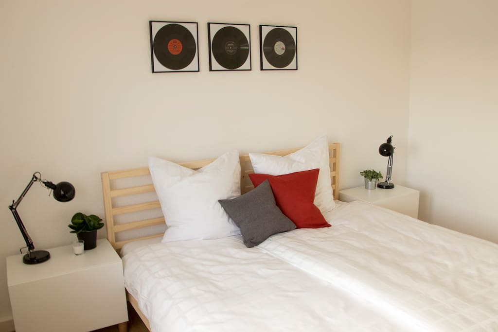 Zimmer 01 // mit gemütlichem Doppelbett
