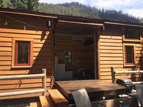 Tiny House on the Gallatin River