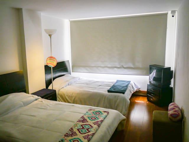 Comfortable double room in Chapinero Alto