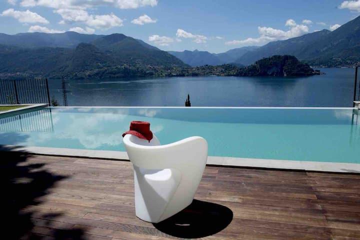Varenna Stunning View Pool Villa