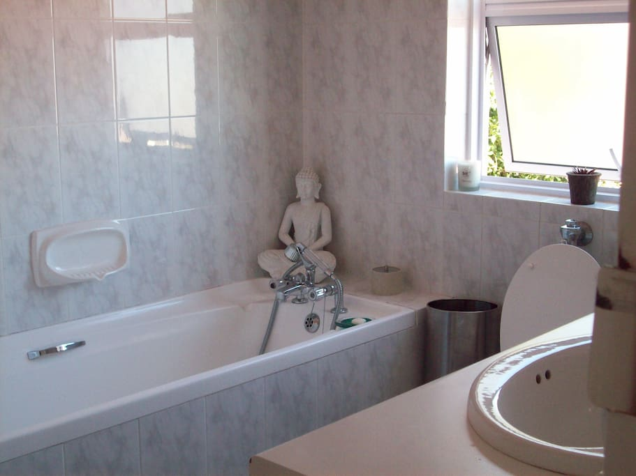 En-suite bathroom , bath and shower