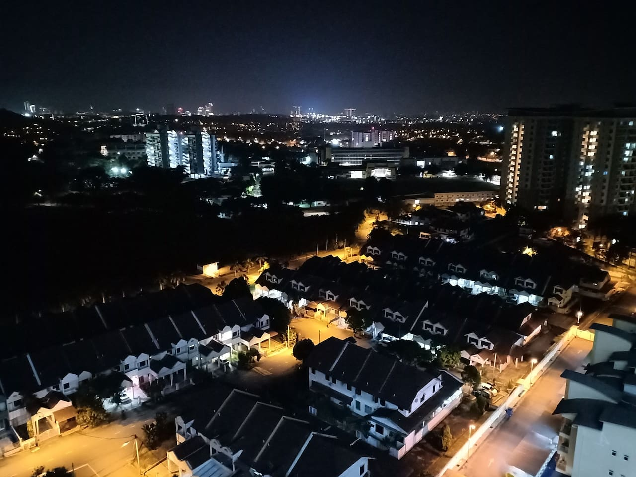 Nice Night view from bedroom