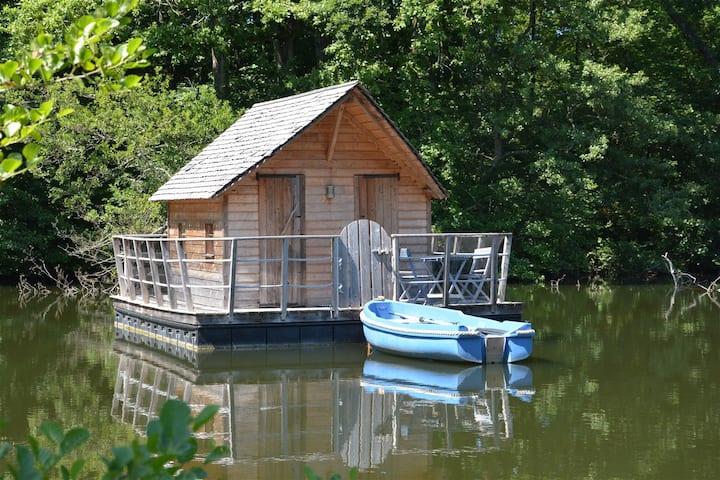 Cabane flottante Belle-île