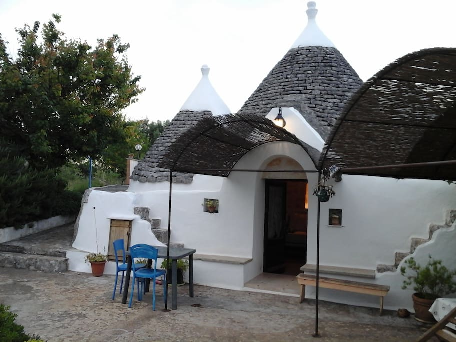 Old Trullo entrance