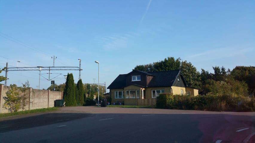 The countryside of sweden  near  Helsingborg - Kattarp