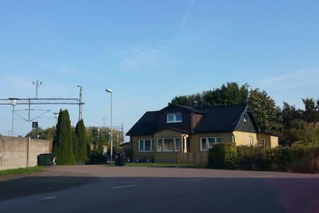 The countryside of sweden  near  Helsingborg - Kattarp - Hus