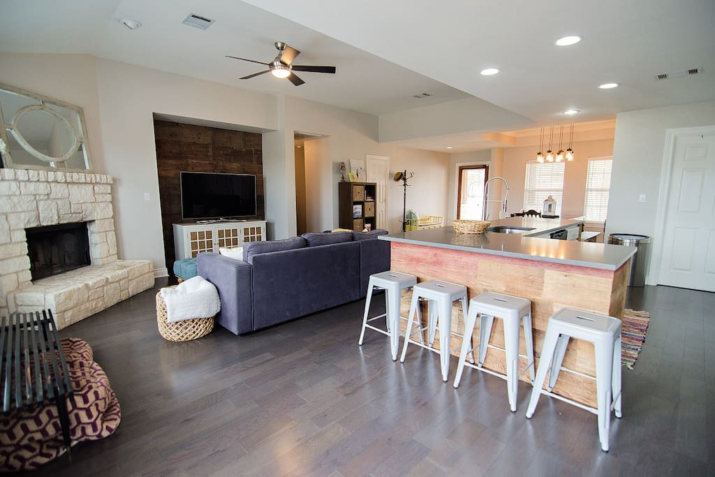 Welcome! Walk into an open space with plenty of natural lighting.