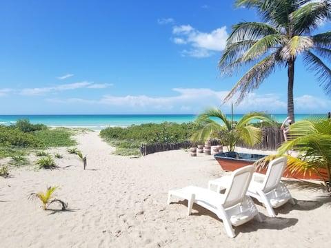 Beachside Casita in El Cuyo