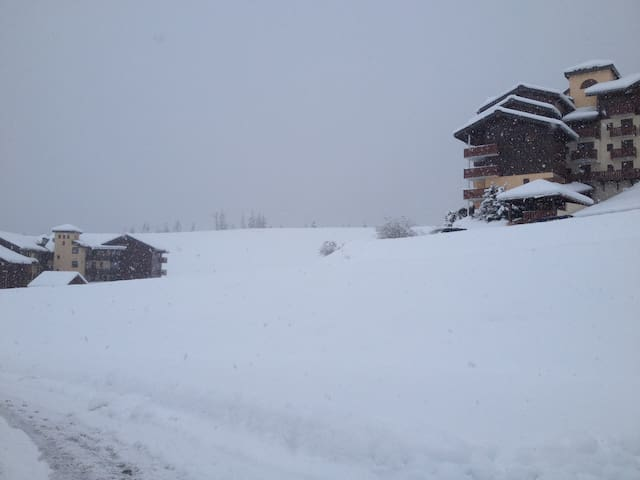 en station de ski 4 pers. Manigod - Manigod - Lägenhet