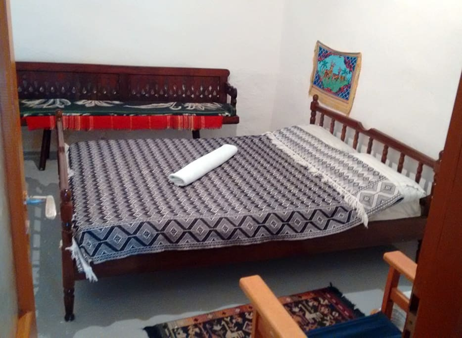 Double Bed + Sofa