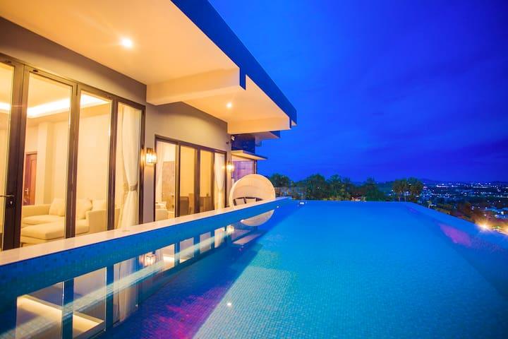 E2.半山轻奢豪宅,180度海景网红别墅。