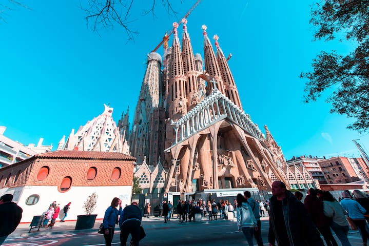 Best location Barcelona/Sagrada familia 5min walk