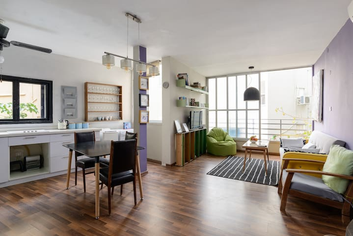Colorful and Stylish 2BR Apartment