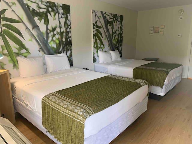 2 camas Full.