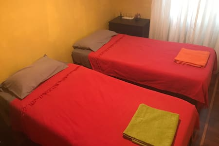 Quiet Double room together Historical Center