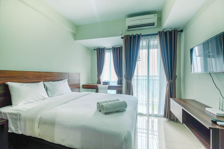 Homey and Comfy Studio Apt @ Grand Dhika City
