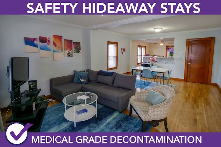 Safety Hideaway - Medical Grade Clean Home 43