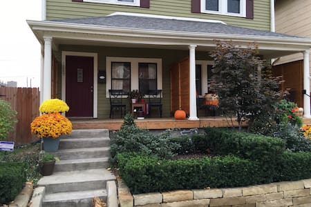 Downtown Duplex, 1 mile from Circle - Indianapolis - Ház