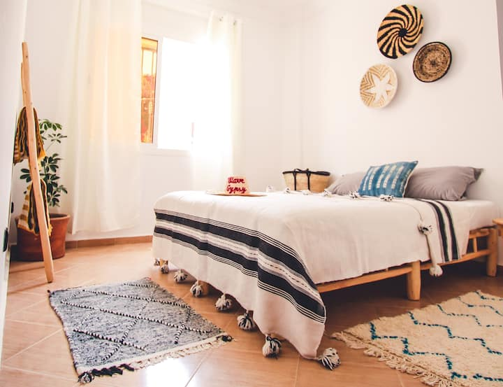 Double room with bath & breakfast at Wave Gypsy