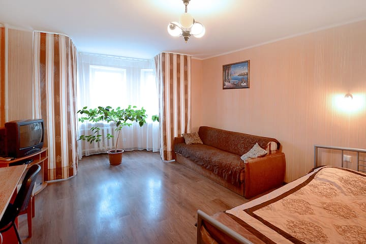 Comfortable apartment in Podil, central Kyiv