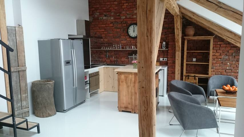 Astonishing artistic apartment in the City Center - Rzeszów - Wohnung