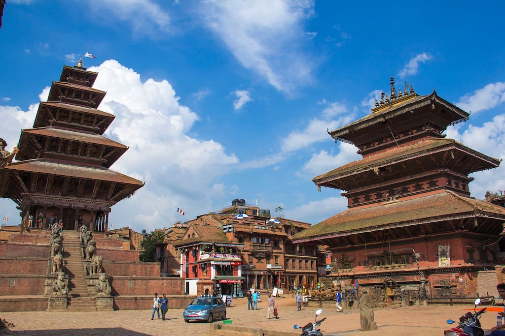 Nyatapola, the five storied and the tallest temple in Nepal.