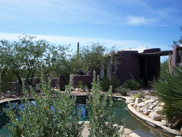 Desert Moon Retreat Guest Casita-Studio