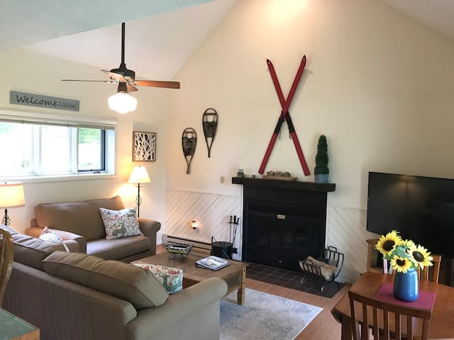 Wintergreen Condo- cozy, clean and dog friendly