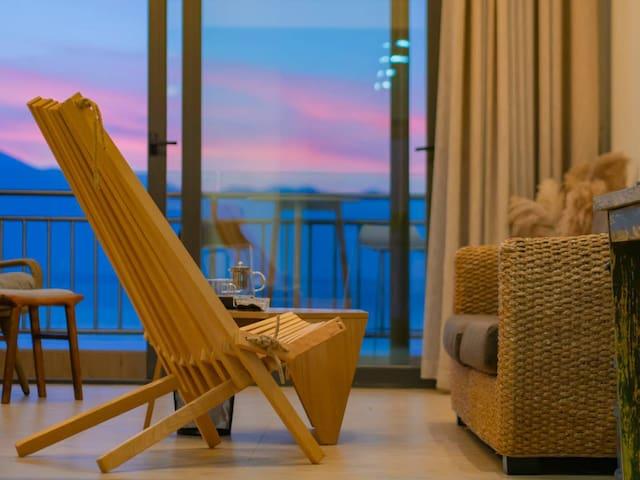 龙湾单卧三人海景度假公寓--1113