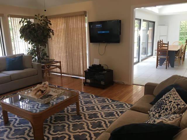Living Room with RV