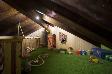 La Casa del Árbol, ideal para viajar con niños - Oseja de Sajambre - 단독주택