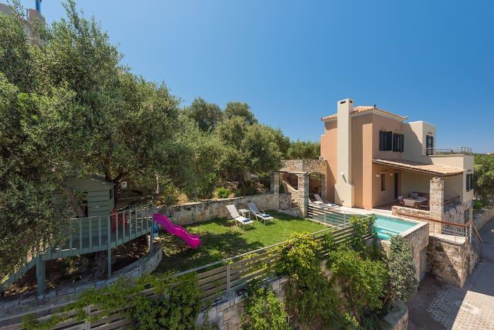 Villa Margarita 4, a charming villa with pool - Chania - Villa