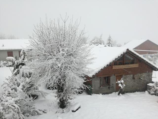 Maison vallée d'abondance - ski et lac
