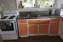 Fully quipped kitchen