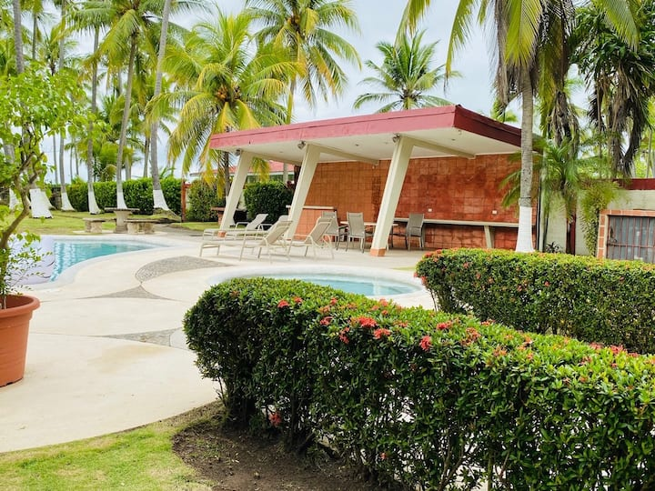 Best Beach Front House in El Roble, Puntarenas.