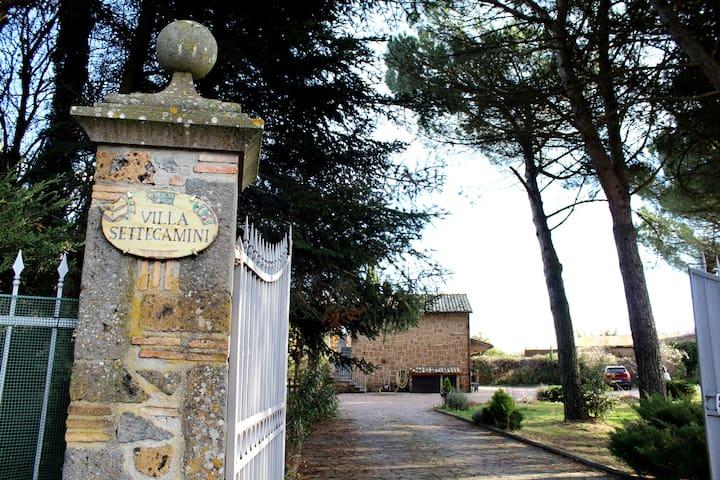 Dependance Villa Settecamini