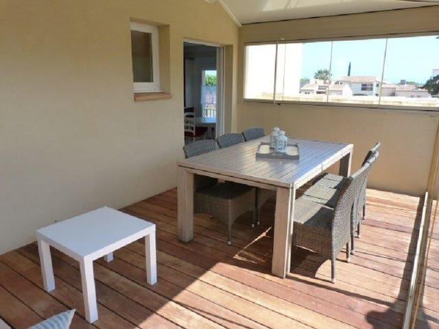 Appartement proche port et plages - La Londe-les-Maures - Apartamento
