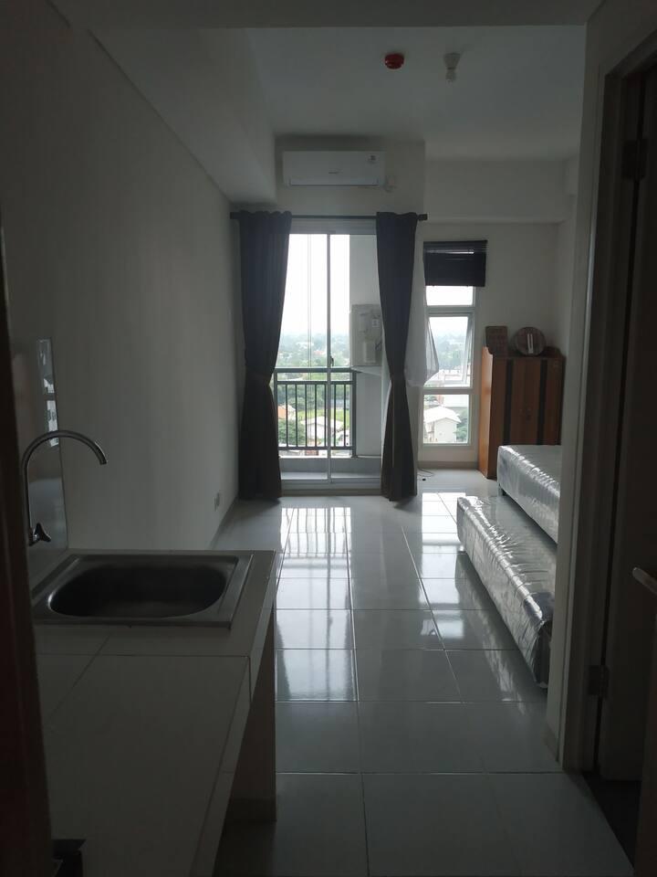For rent : Akasa Apartment ; studio ; pool view