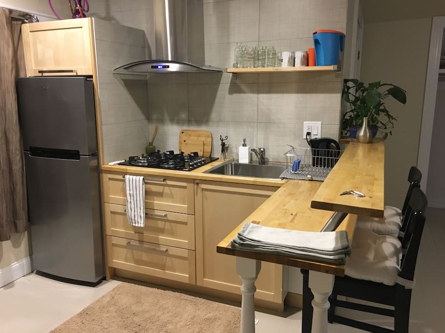 Fully ready equipped kitchenette