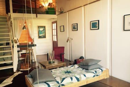 Artist loft surfer hideout - Guéthary - 公寓