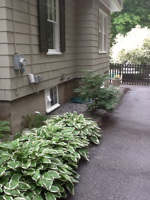 Private off street parking is available and leads directly to the fully fenced in pool and back door.
