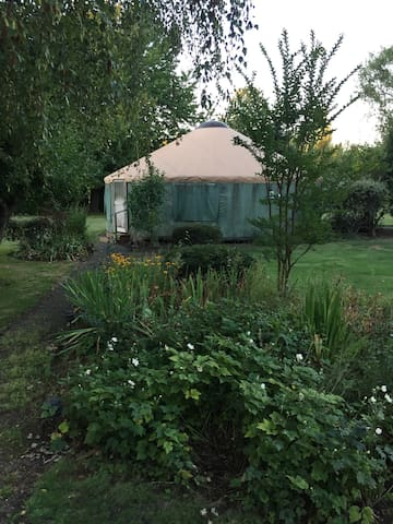 Stay in a yurt in the country! - Canby - Yurt