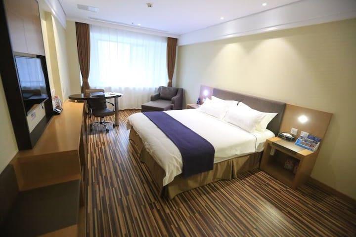 360酒店公寓精品大床房 - Shenyang - Appartement