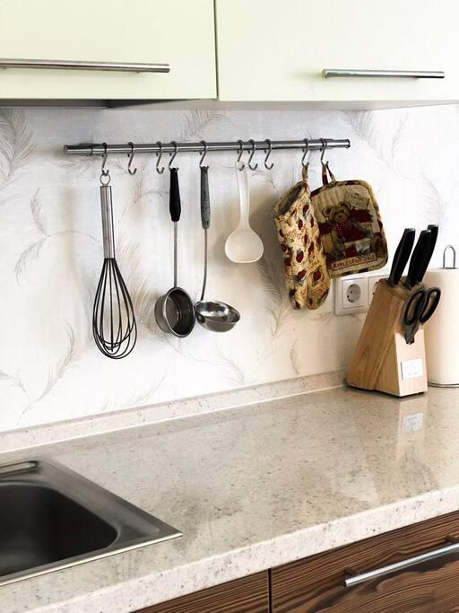 Кухонные пренадлежности