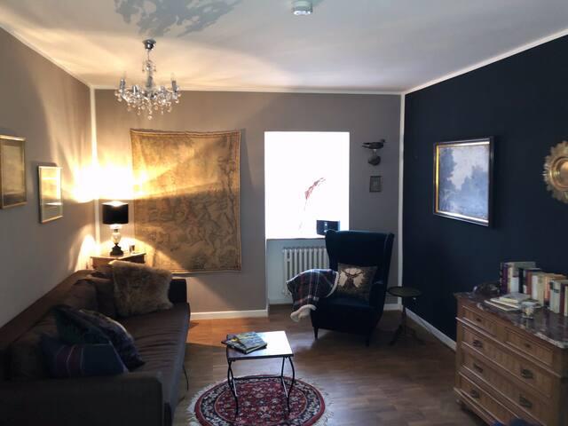 Wohnung 2 mit Bettcouch und Schlafzimmer