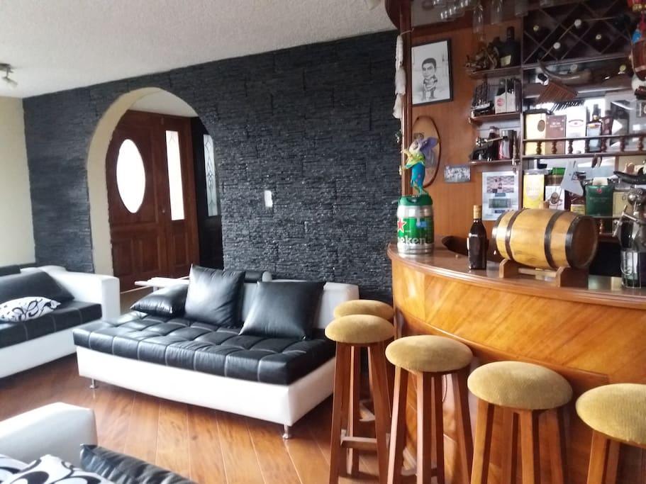 sala y bar